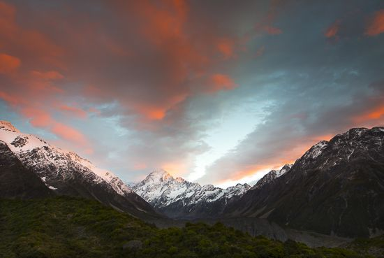 Mt Cook National Park, South Island, New Zealand